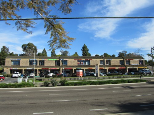 Strip Mall In Encinitas Professional Painting