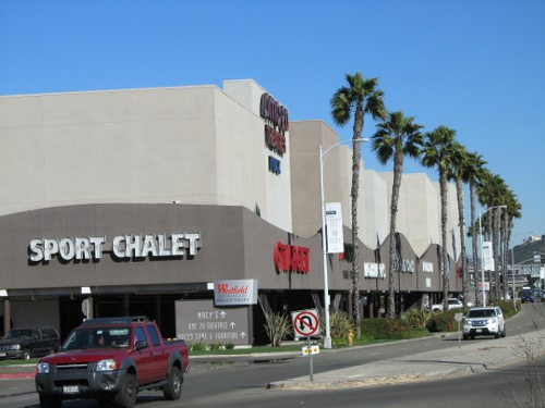 Westfield Shopping Mall Painting Contractor Southern California Mission Valley