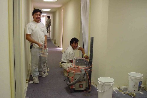 Sergio Martin Internal Commercial Painting San Diego